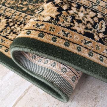 Chodnik dywanowy President 03 - zielony - 60 - 120cm- tradycyjny- klasyczny