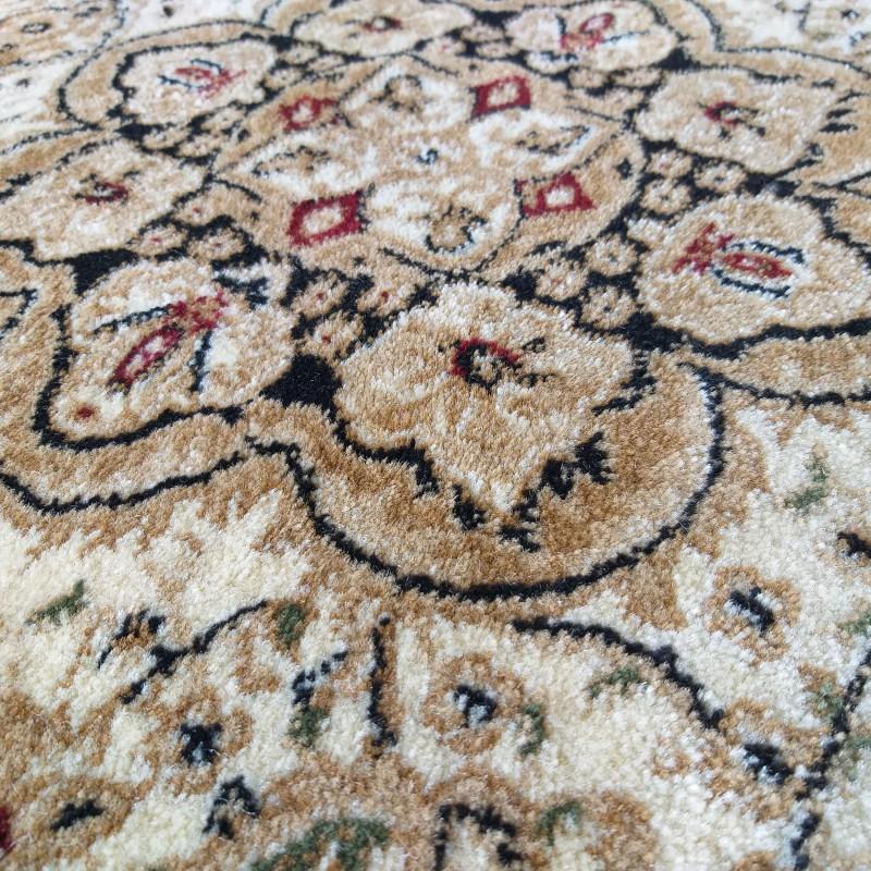 Chodnik dywanowy President 03 - kremowy - 60 - 120cm- tradycyjny- klasyczny