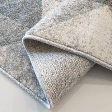 Chodnik dywanowy Grigio 01 - szary - szerokość od 60 cm do 120 cm