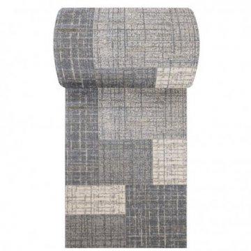 Chodnik dywanowy Grigio 03 - szary - szerokość od 60 cm do 120 cm