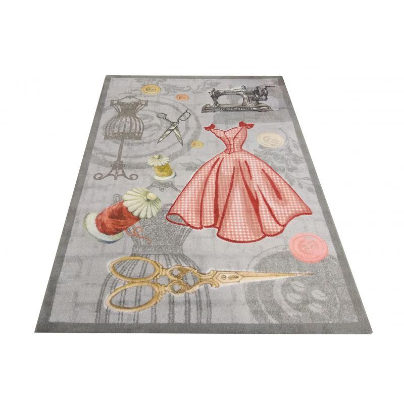 Dywan dla dzieci Kiddie 08- sukienka- z certyfikatem