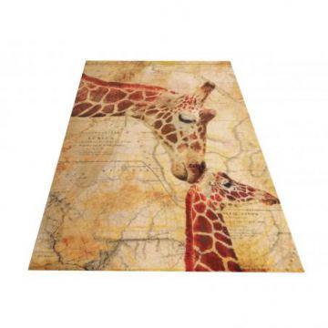 Dywan dla dzieci Kiddie 09 - żyrafy- z certyfikatem