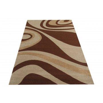 Dywan nowoczesny Bueno 05S - brązowy