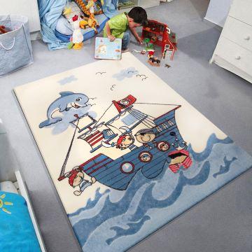 Dywan dla dzieci Kiddie 04 - piraci- z certyfikatem