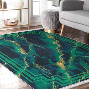 Dywan nowoczesny antypoślizgowy Universal 18 zielony