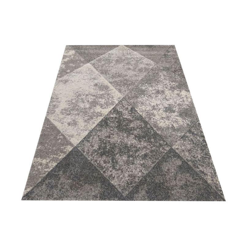 Dywan nowoczesny geometryczny szary Grigio 05