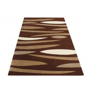 Dywan nowoczesny Bueno 01S - brązowy
