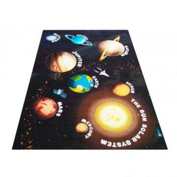 Dywan dla dzieci Kiddie 11- kosmos- planety- z atestem