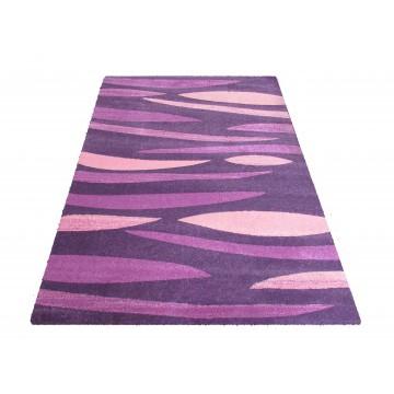 Dywan nowoczesny Bueno 01S - fioletowy