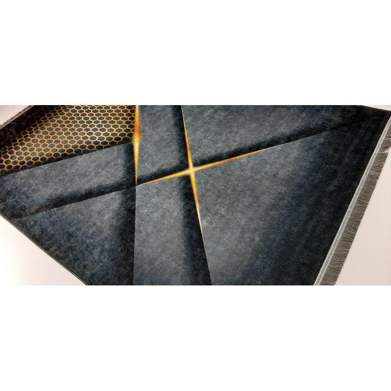 Dywan antypoślizgowy nowoczesny Universal 25 Czarny