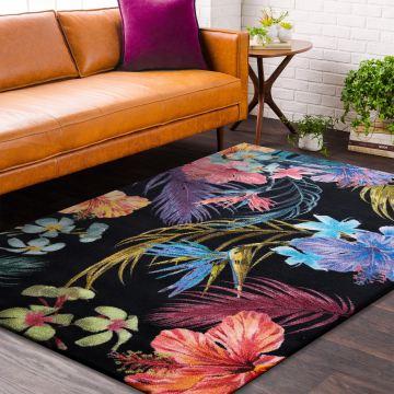 Dywany nowoczesny LUX 05- wielokolorowy w kwiaty