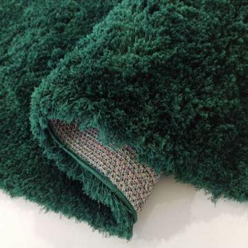 Dywan shaggy pluszowy SOFT - butelkowa zieleń