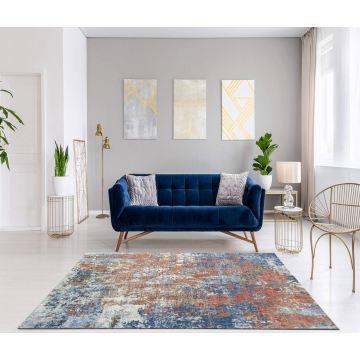 Dywan nowoczesny typu Vintage- Keny 559 niebieski