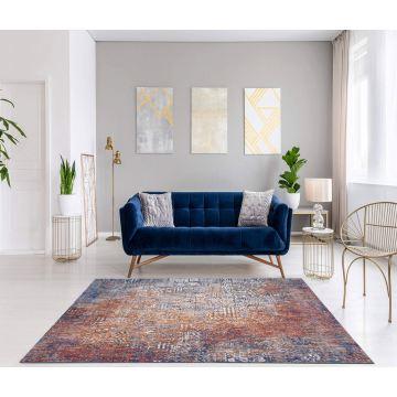 Dywan nowoczesny typu Vintage- Keny 725 niebieski