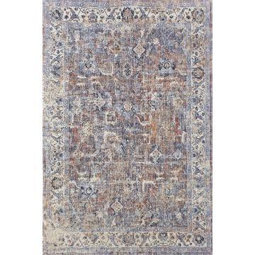 Dywan nowoczesny typu Vintage- Keny 546 niebieski