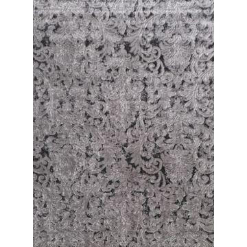 Dywan nowoczesny dwupoziomowy LULA- 1350 szaro-czarny