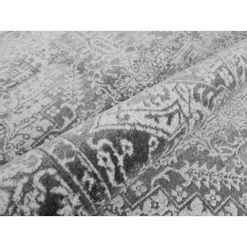 Dywan nowoczesny dwupoziomowy LULA- 1404 szary