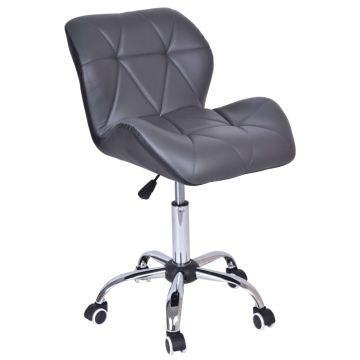 Krzesło biurowe obrotowe MORY czarno-szare