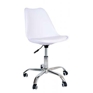 Fotel biurowy Elmy - biały