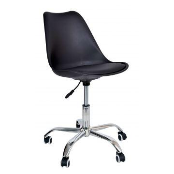 Fotel biurowy Elmy - czarny