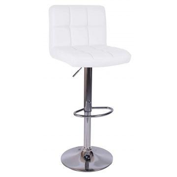 Hoker krzesło barowe ARAKY białe