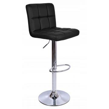 Hoker krzesło barowe ARAKY czarne