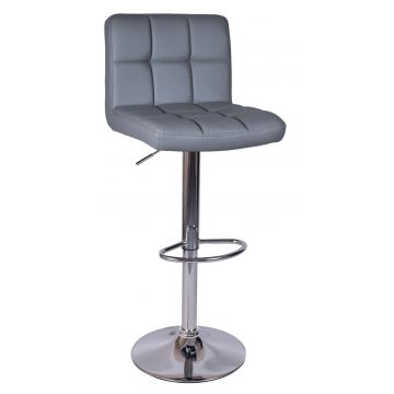 Hoker krzesło barowe ARAKY szare
