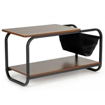 Stolik kawowy loftowy nowoczesny 2 poziomy