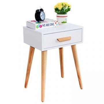Nowoczesny Stolik kawowy szafka nocna z szufladą