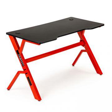 Biurko gamingowe stół dla gracza- czarny blat