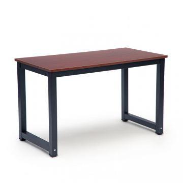 Biurko komputerowe stół stolik gamingowe szkolne -brązowe