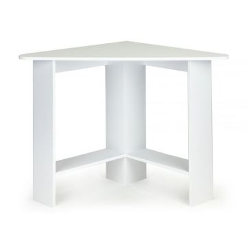 Biurko komputerowe narożne- białe
