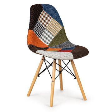 Komplet 2 krzeseł patchwork